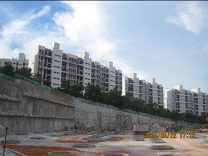 深圳三洲田畔山庭院基坑工程